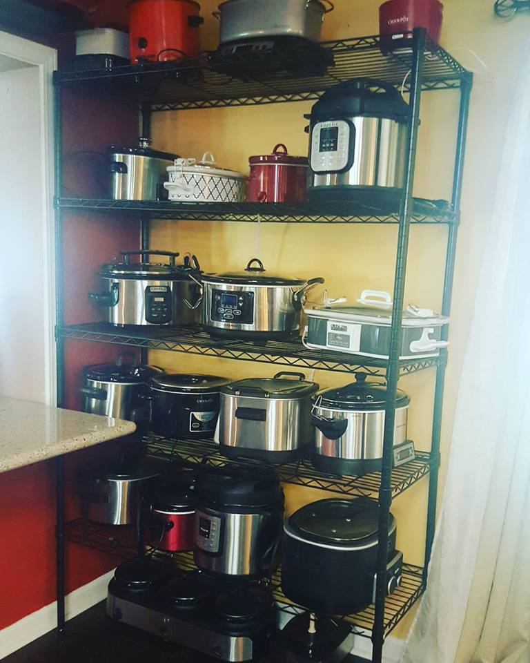 Crock pot wall