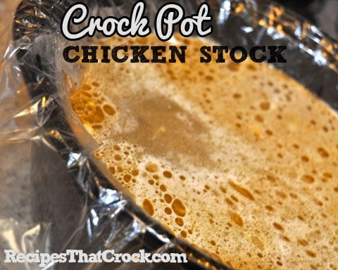 CrockPotChickenStock