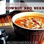 Cowbboy BBQ Beans