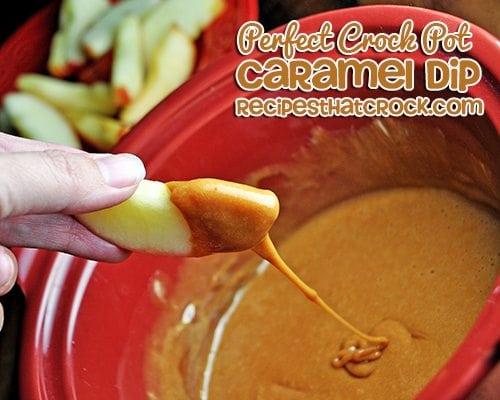 Crock Pot Caramel Dip