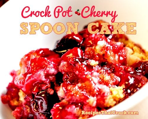 Crock Pot Dessert Recipes