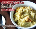 Creamy Ranch Crock Pot Potatoes2