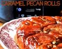 Caramel Pecan Rolls made in a #Crockpot #Slowcooker