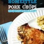 Slow Cooker Homestyle Pork Chops