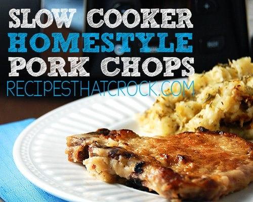 Slow Cooker Homestyle Pork Chops2