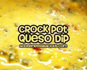 crock pot queso