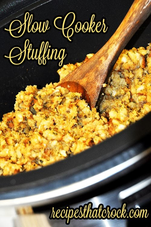 Slow Cooker Stuffing - Recipes That Crock!