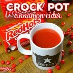 Easy Crock Pot Cinnamon Cider