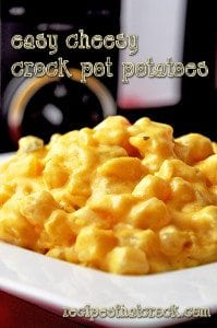 Easy Cheesy Crockpot Potatoes