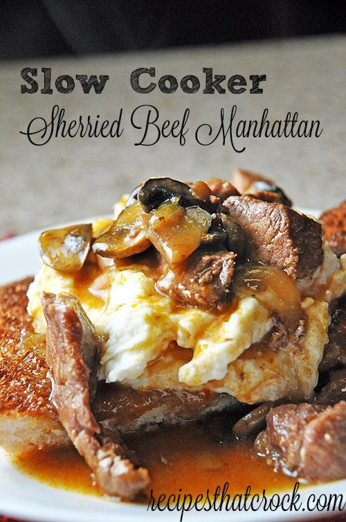 Sherried Beef Manhattan