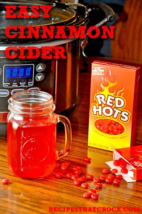 easy crockpot cider