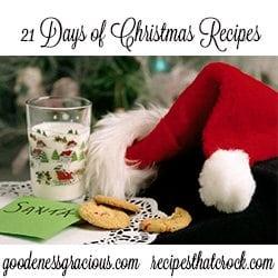 21 Days of Christmas Recips