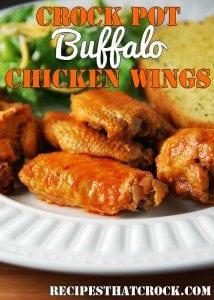 Crock Pot Buffalo Chicken Wings