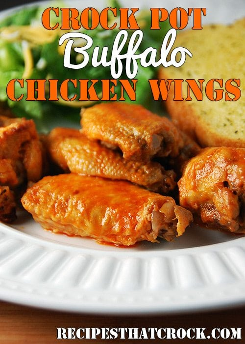 Crock Pot Buffalo Chicken Wings