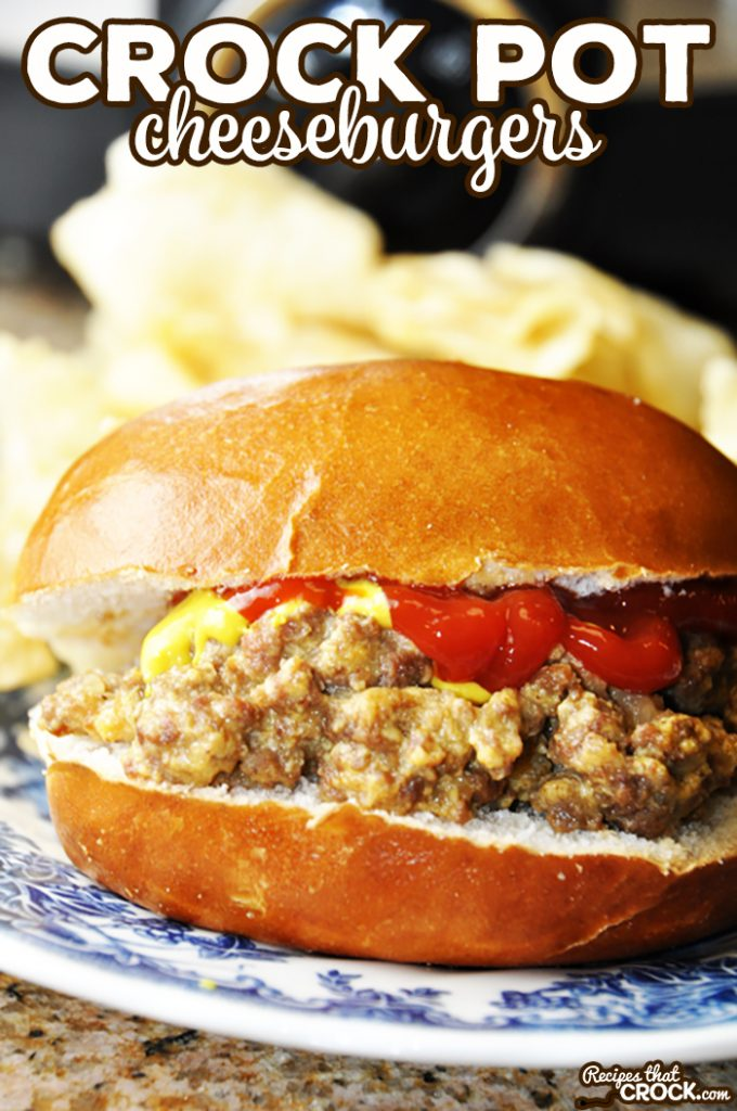 These Crock Pot Cheeseburger Sandwiches are an easy tried and true favorite that tastes similar to White Castle burgers. This recipe is a great simple weeknight dinner and is easily doubled for parties.