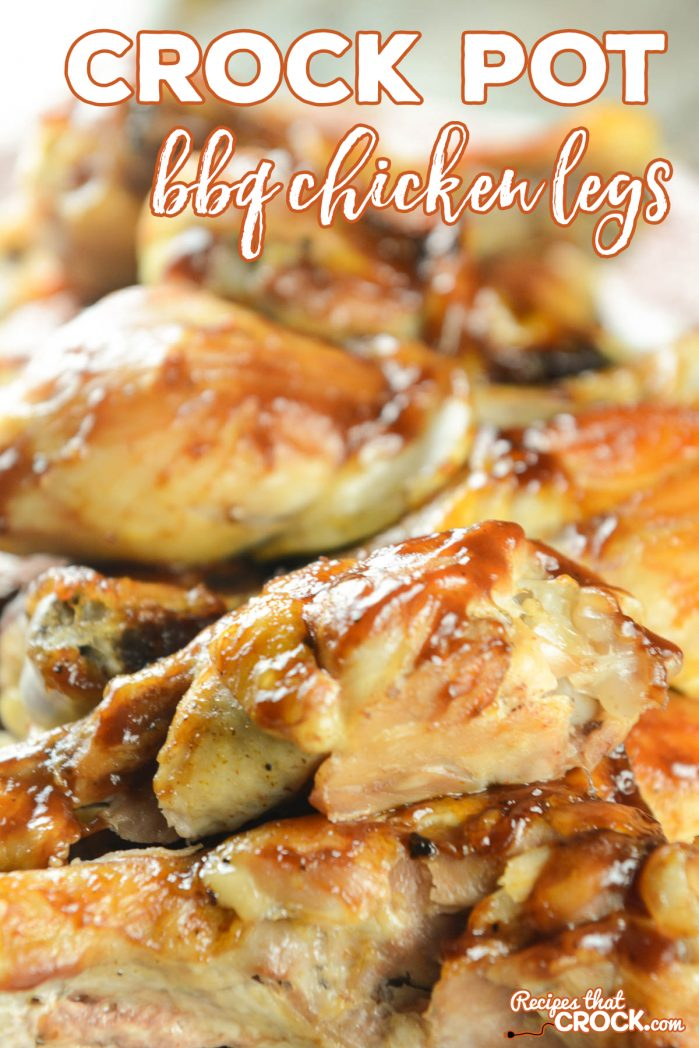 Are you looking for an easy chicken recipe that everyone will swear came straight off the grill? This recipe for Crock Pot BBQ Legs is incredible and could not be easier!