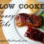 Slow Cooker Saucy Ribs