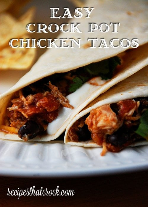 Feel like chicken tonight? These Easy Crock Pot Chicken Tacos from Gooseberry Patch's Slow Cooking All Year 'Round are absolutely delicious and super quick to throw together! Mommy score!