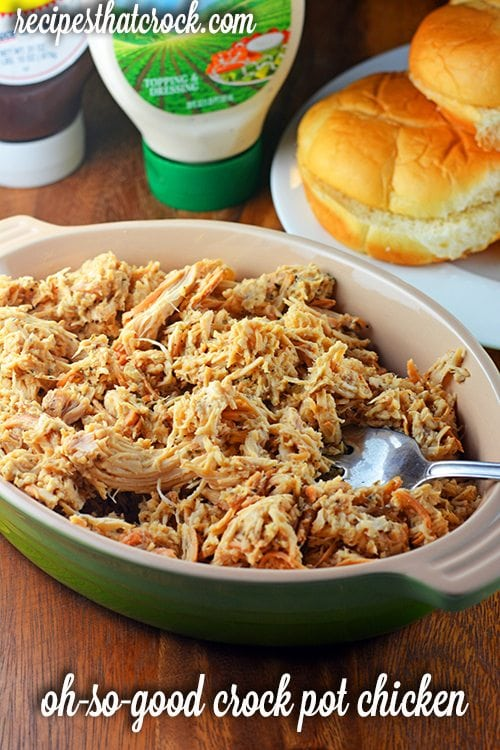 Crock Pot Shredded Chicken Crock pot shredded chicken