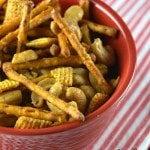 Sweet & Salty Crock Pot Party Mix