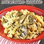 Crock Pot Mushroom Chicken