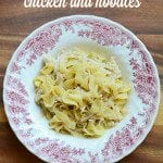 crock pot chicken noodles