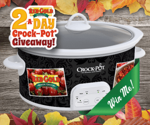 Win a Free Crock Pot!