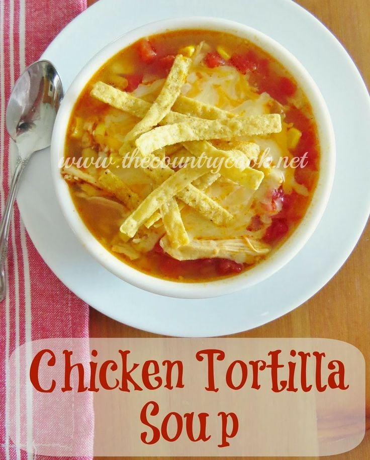 Chicken Tortilla Soup - Brandie