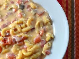 Crock Pot Fiesta Mac n Cheese