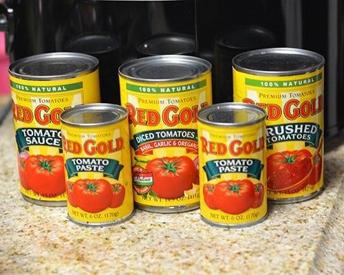Spaghetti Sauce Tomatoes