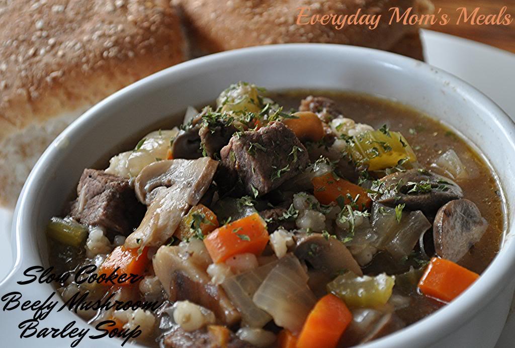 beefy mushroom barley soup