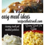 Easy Crock Pot Meal Ideas