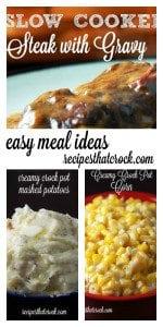 Easy Crock Pot Meal Ideas