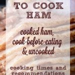 How Long to Cook Ham