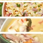 Are you looking for easy leftover ham recipes? We have several easy crock pot recipes as well as non-crock pot recipes that are perfect for your leftover ham.