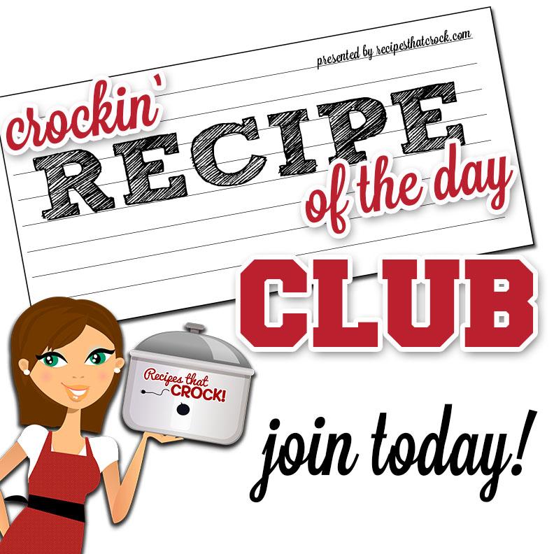 cRockin' Recipe of the Day Club