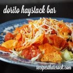 Dorito Haystack Bar {Crock Pot}