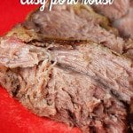 Crock Pot Easy Pork Roast