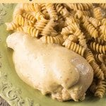 Crock Pot Creamy Italian Chicken- Easy crock pot meal that everyone loves.