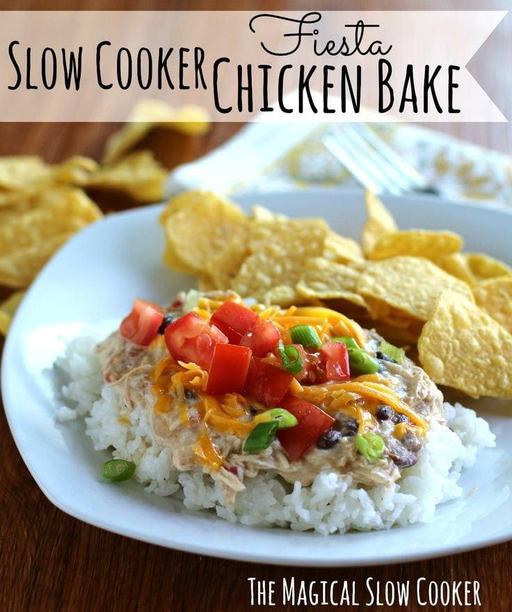 Fiesta Chicken Bake