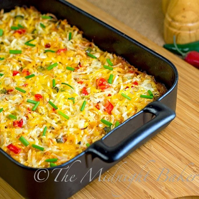 Mexicali Hashbrown Casserole