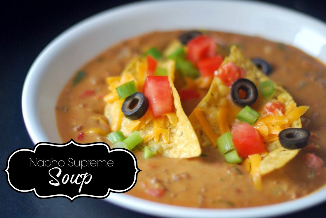 Nacho Supreme Soup For Facebook