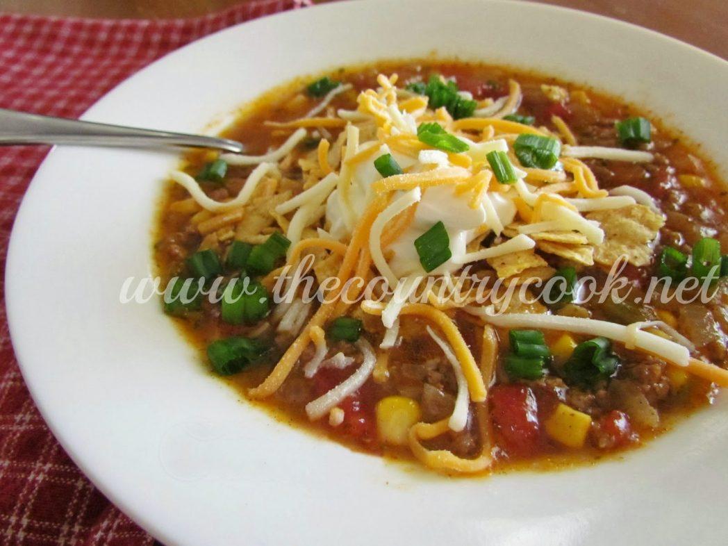 Taco Soup 2 (thecountrycook)
