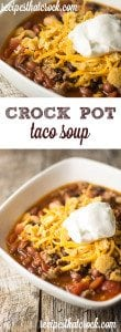 Crock Pot Taco Soup: Delicious way to switch up taco night!