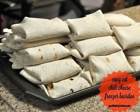 lunch burritos