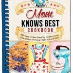 Mom Knows Best Cookbook Giveaway