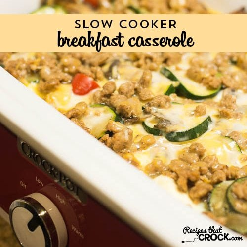 Casserole Crock Pot Recipes