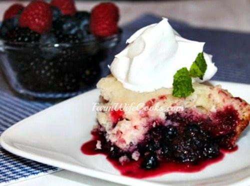 Mixed Berry Dump Cake-4