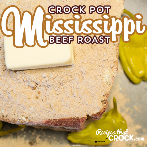 Crock Pot Mississippi Beef Roast takes minutes to throw together and is amazing!