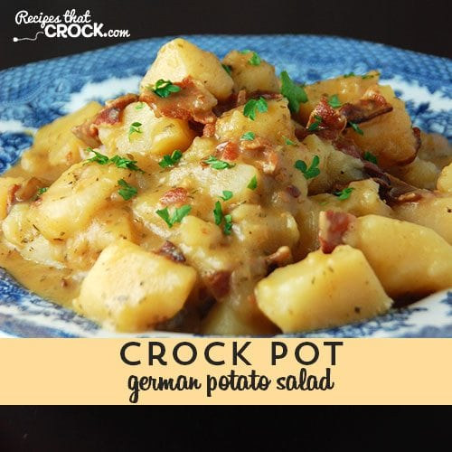 Delicious German Potato Salad for you crock pot!
